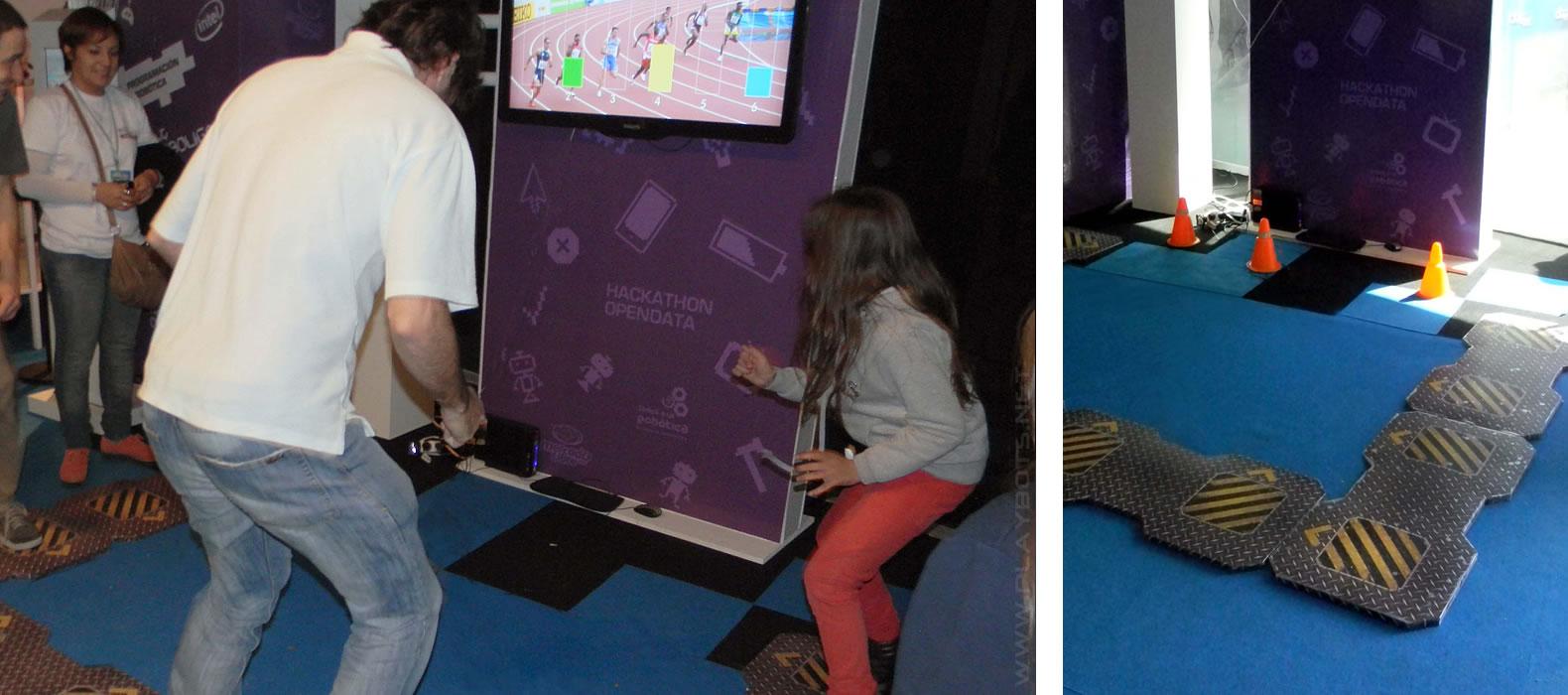 Juegos Interactivos Digitales Gestuales Playbots
